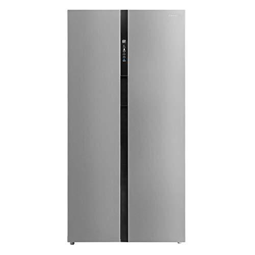 Jocel Side by side JSBS011336, frigorifero da 525 l, No Frost, 2 ante inox, classe A+