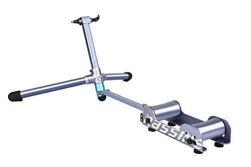 RASSINE - Rodillo para Bicicleta con Resistencia magnética con autogeneración de energía