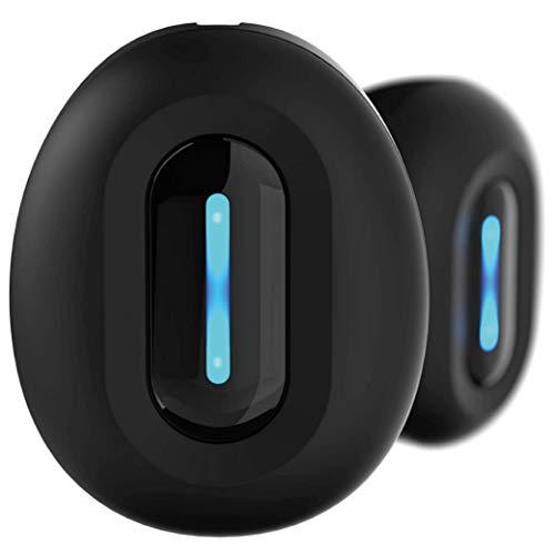 DIVACORE - Nomad - Auriculares intraaurales 100% inalámbricos - Bluetooth 5.0 - Llamadas estéreo - Modo Deportivo Exterior - Negro