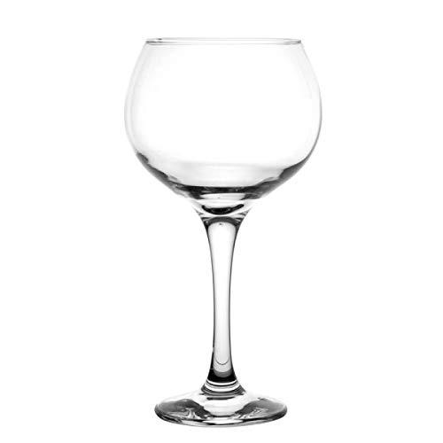 Pasabahce - Set da 6 Bicchieri da Gin Tonic - Cocktail - Particolari - Ideali per la casa, Ristorante Feste e Ricevimenti - Adatto alla Lavastoviglie e Forno a Microonde - Confezione