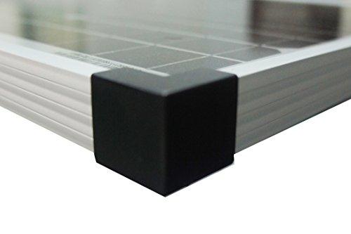 Enjoysolar® 150W Monocrystalline Solar Panel Ideal for Caravans, Sheds, Boats etc.