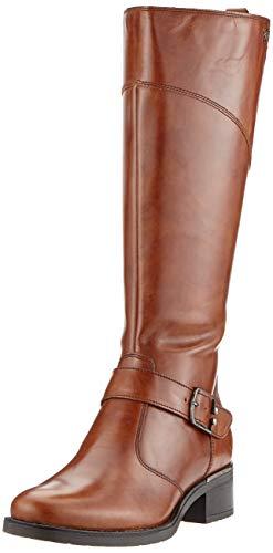 Tamaris Damen 1-1-25553-23 Hohe Stiefel, Braun (Cuoio 455), 37 EU