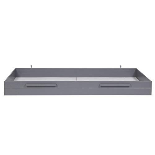 Alfred & Compagnie Tiroir pour lit Aaron gris acier