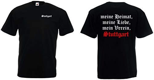 Stuttgart Herren T-Shirt Meine Heimat, Mein Verein