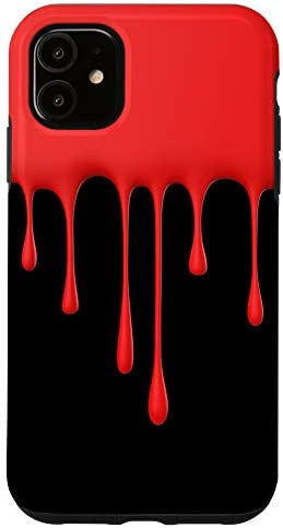 iPhone 11 Red Drip Case product image