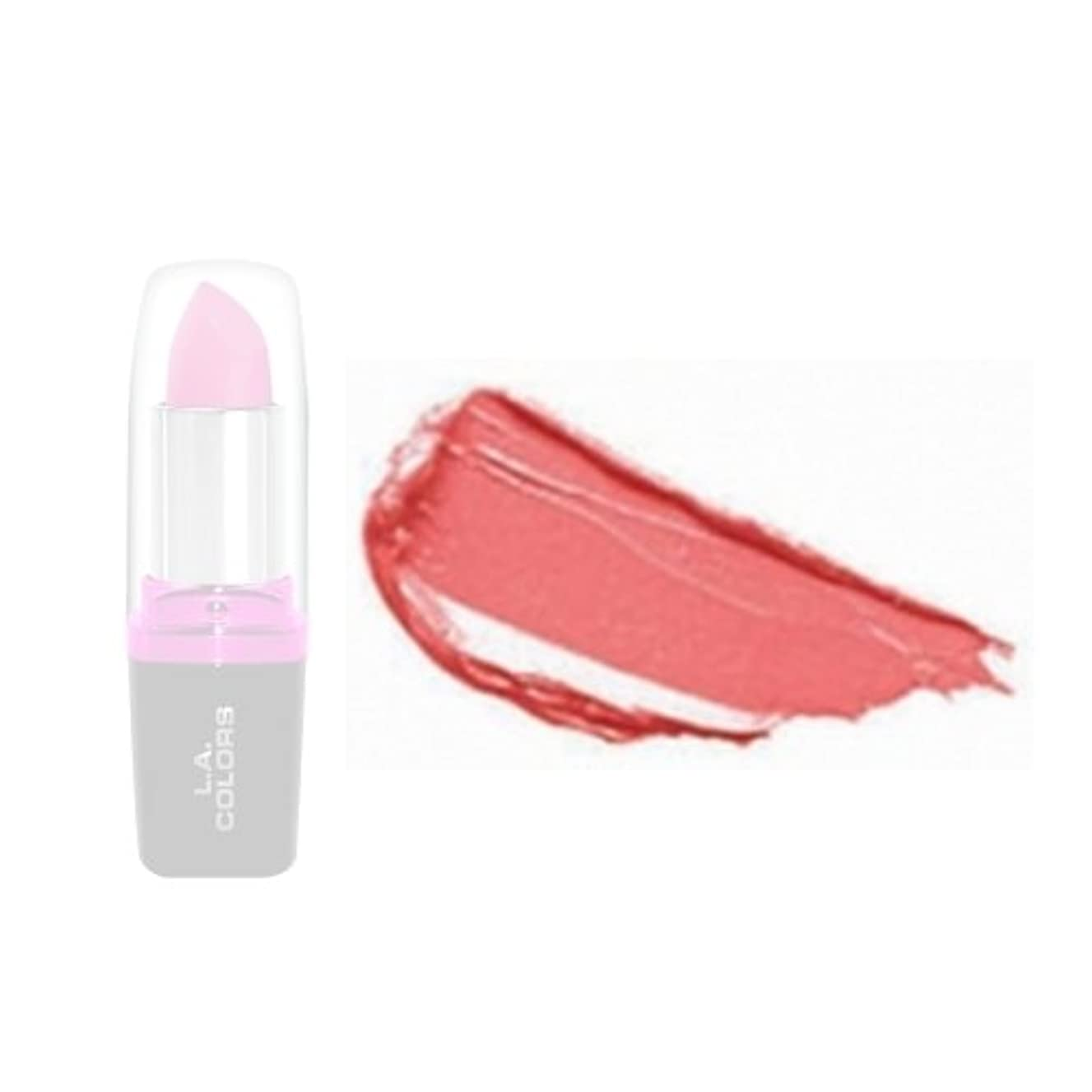 後ろにぴかぴか裏切る(3 Pack) LA Colors Hydrating Lipstick - Dainty (並行輸入品)