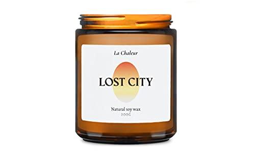 La Chaleur Luxury Scented Soy Candle