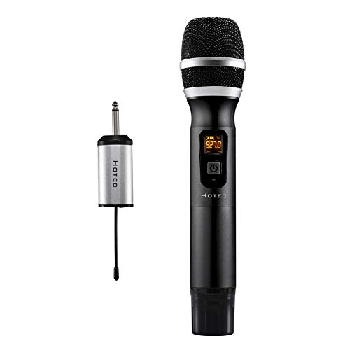 Hotec 25 Channel UHF Handheld Wireless Microphone