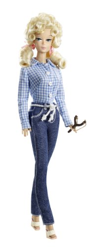 Barbie Collector Pink Label Beverly Hillbillies Elly May Barbie Doll