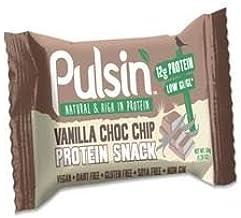 PULSIN Snacks Vanilla Choc Chip Protein Snack 50g Pack of 216 Estimated Price : £ 538,32