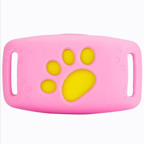 DKBE Pears Tracker, Ubicación en Tiempo Real Impermeable Anti-perdido Dispositivos, Collares de Mascotas Aplicación Impermeable Aplicación Gratuita PROPORCIONADO PERRICOS Cats GPS Seguimiento