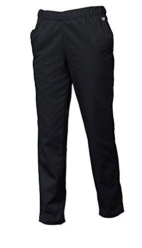BP 1645-400-32-XLl Unisex-Hose, mit Gummizug in der Taille, 215,00 g/m² Stoffmischung, schwarz, XLl