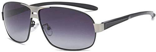 ZYIZEE Gafas de Sol Gafas de Sol polarizadas clásicas de Moda para Hombres Gafas HD Gafas integradas decoloración Inteligente Gafas de Sol-8