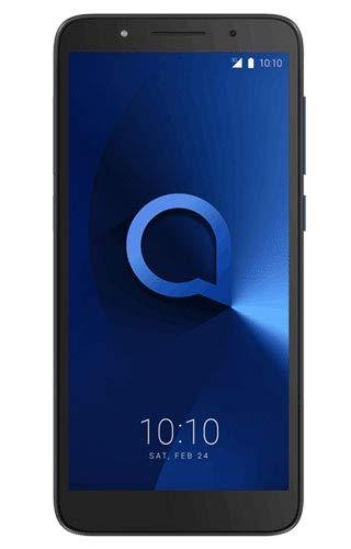 Alcatel 5009D-2AALEW1 13,46 cm (5,3 Zoll) 1c, Smartphone, 16GB Metallic Schwarz