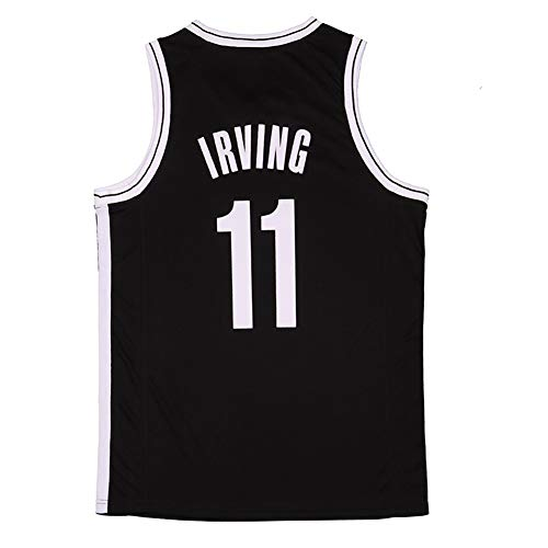 Z/A Brooklyn Nets Kyrie Irving # 11 Camiseta De Baloncesto Camiseta para Hombre Camisa De Camisa Sin Mangas Camisa De Baloncesto Topjersey Camisa,S