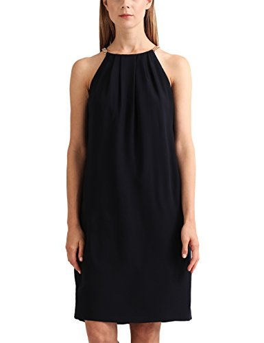 APART Fashion Damen Partykleid Fashion: @Work Navy-Beige, NA, Blau (Marine), 42