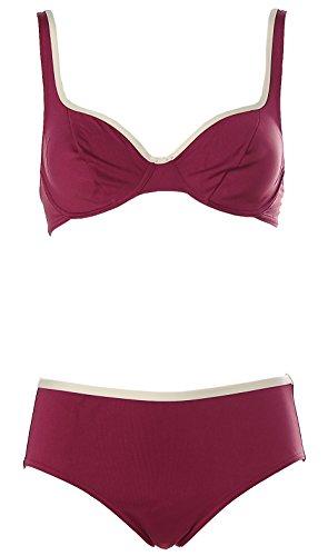 Rasurel Damen Optimizer Bügel Bikini Bordeaux 36 Cup C