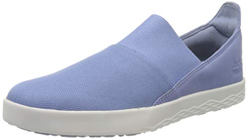 Jack Wolfskin Damen Auckland Slipper Low W Sneaker, Light Blue/White, 36 EU