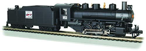 Bachmann Trains - USRA 0-6-0 w/Smoke & Short HAUL Tender - Western Pacific #161 - HO Scale -  Bachmann Industries, 50407