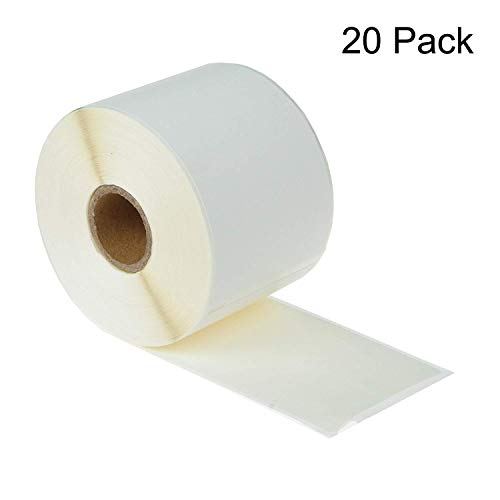 GREENCYCLE 20 Rolls Compatible for Dymo 30256 Large Shipping Labels 59 mm x 102 mm (2-5/16' x 4') 300/Roll for LabelWriter 330 400 450 Duo Twin Turbo 4XL Printer