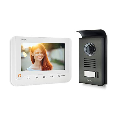 Extel 720288 Videoportero, 1W, Blanco