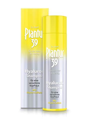 Plantur 39 Hyaluron-Shampoo 1 x 250 ml - verwöhnt trockene Kopfhaut mit Feuchtigkeit | Gegen menopausalen Haarausfall
