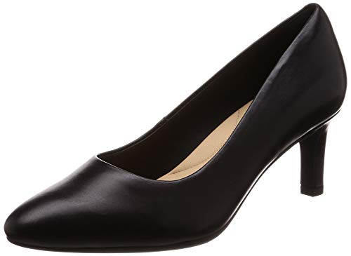 Clarks Damen Calla Rose Pumps, Schwarz (Black), 38 EU