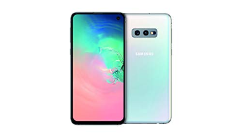 "Samsung Galaxy S10e Smartphone, Display 5.8"", 128GB, Dual SIM,  Bianco (Prism White) [Altra Versione Europea]"