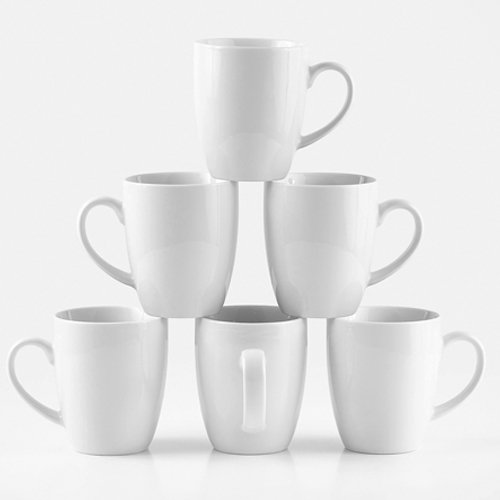 "Amuse- Professional Barista""Cozy Collection"" Mug- Set of 6 (Medium - 12 oz.)"