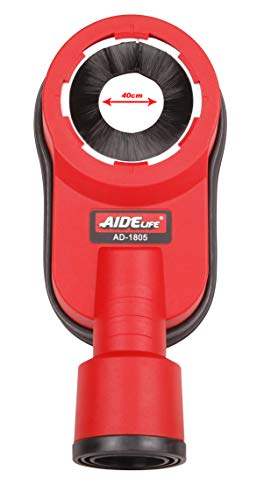 Aidelife Hammer Dust Collection Attachment,Dust Shroud for Drilling 70mm