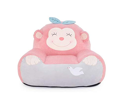 Niños de dibujos animados Sofá, Sofá rellenas bebé de dibujos animados Toy heces Pequeño mono mini Sofá de Cdren de Sillón habitaciones de niños del asiento de la butaca Cdren cojín del sofá dormitori
