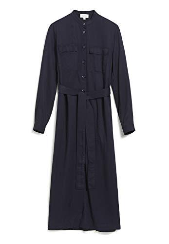 ARMEDANGELS BEANTAA - Damen Kleid aus LENZING™ ECOVERO™ S Night Sky Kleider Web, Dresses Woven Relaxed Fit