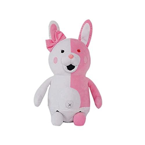 Toitaly Monokuma Pink Bear Plushie Super Danganronpa 2 Plush Doll Toy Kid Gift 35cm/13.7 in (Medium, Pink)