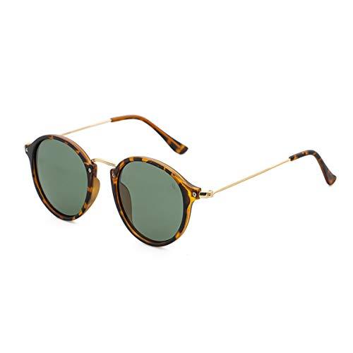 Gafas de sol retro para hombre para mujer – Vintage Clásico Redondo Gafas de sol Polarizadas Protección UV 400