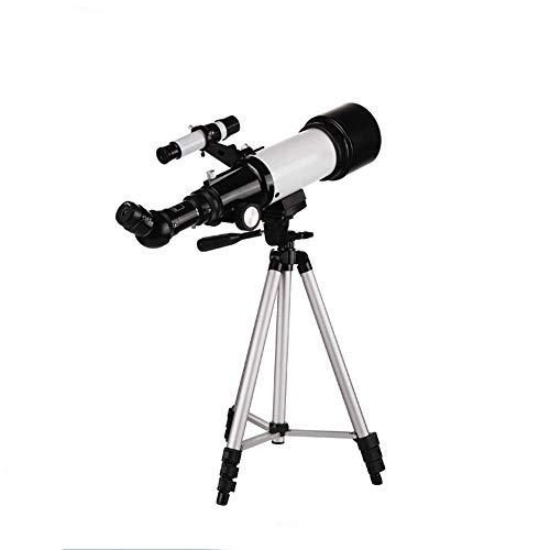ROM Telescopio, astronobinoculares, trípode de Alta definición Profesional para observar Las Estrellas, Regalo para Estudiantes, niños y Adultos