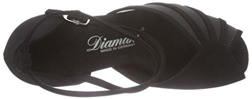 Diamant Damen Tanzschuhe, Standard & Latein, Schwarz 020-077-040 - 5