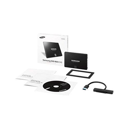 Samsung 850 Evo MZ-75E500 - Solid-State-Disk - verschlüsselt - 500 GB - Intern - 2.5' (6.4 cm)