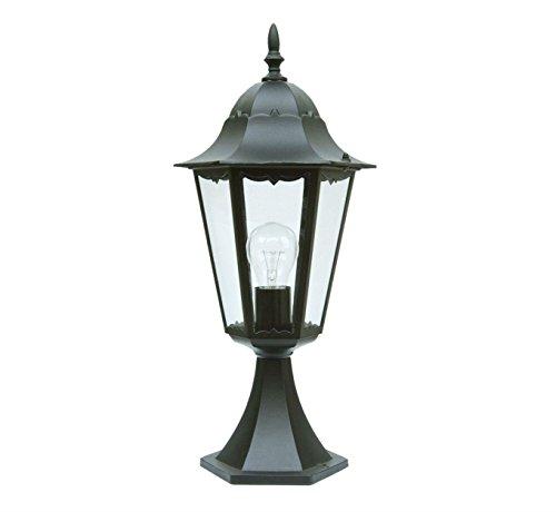 Lámpara de pared de jardín victoriano para exteriores, patio, camino, lámpara de pared, mini