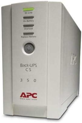 APC Back-UPS CS 350 - APC Back-UPS CS 350 - UPS - AC 120 V - 210 Watt - 350 VA - 6 output connector(s)