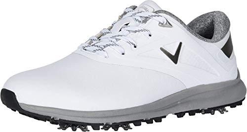 Callaway Women's Coronado Golf Shoe, White, 8.5