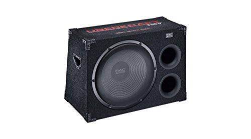 Mac Audio Überkraft 3800 | 380 mm Doppel-Bassreflex-Port Gehäusesubwoofer | 1500 Watt | Hochwertiges Push-Terminal - schwarz