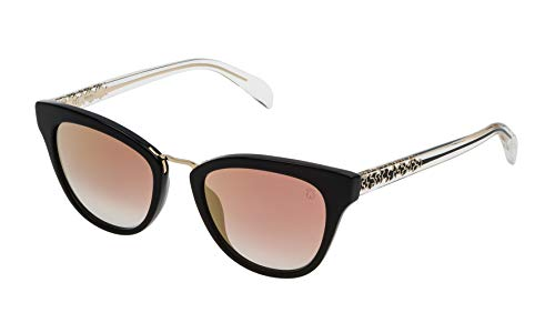 TOUS STOA06-51700G Gafas, Negro, 51/20/135 para Mujer