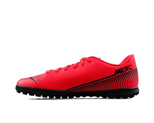 Nike Vapor 13 Club TF, Scarpe da Ginnastica Unisex-Adulto, Laser Crimson/Black, 44.5 EU