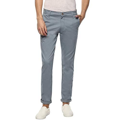 Ben Martin Men's Regular Fit Trouser (BMW-COTTON-TRS-GREY-34a_Grey_34)