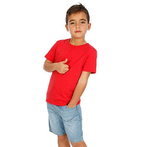 Top slinger broek, kinderen, wit