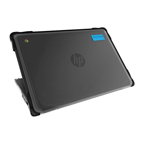 Gumdrop SlimTech Case for HP 11 G8 EE, HP 11 G9 EE, MK G9 EE Chromebook (❌NOT FIT for HP 11A) Laptop Case for K-12 Students, School, Office - Black Lightweight Protection from Bumps and Scratches