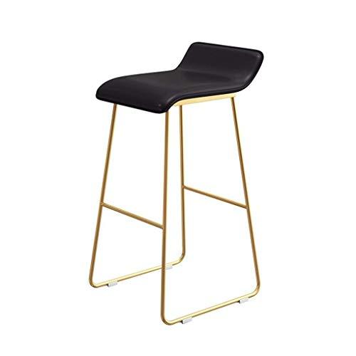 WWW-DENG barkruk, eetkamer, keuken, tafel, stoel met gouden poten, ideaal voor hoge kasten in de keuken zoals op het werk, thuis bar enz. barkruk