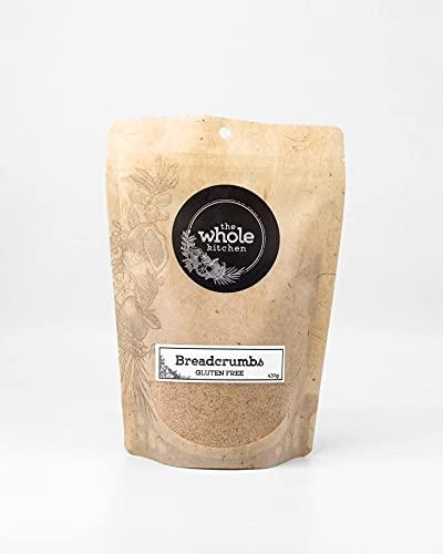 The Whole Kitchen Pan rallado sin gluten de 430 g – Convierte cualquier comida sin gluten con estas migas de pan. Úselo para costrar carne y mariscos, añadir a las albóndigas y encima de las cazuelas