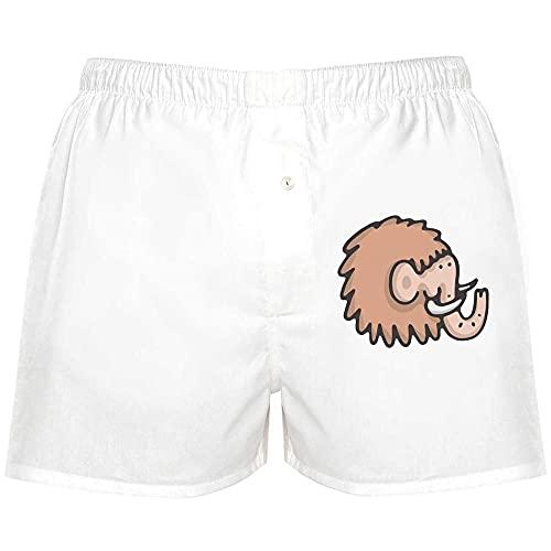 Azeeda 'Wolliges Mammut' Boxer Shorts / Underwear / Klein (BX00005773)