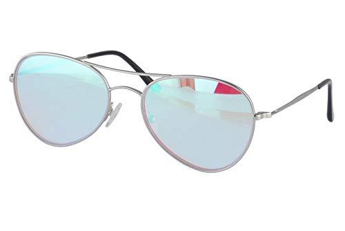 SHINU Rojo verde Gafas para Daltonicos para Hombre y Mujer con Rojo Verde Ceguera Color Vision Trastorno -CB72002(silver)